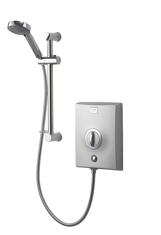 AQUALISA QUARTZ ELECTRIC SHOWER 9.5KW - CHROME