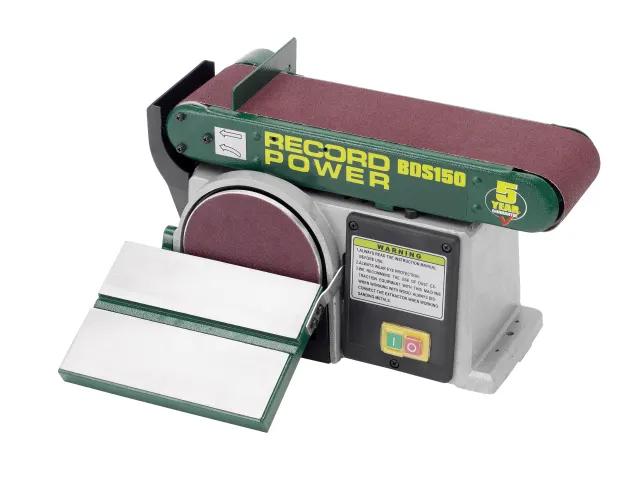 RECORD BDS150 BELT / DISC SANDER - 152 X 101MM