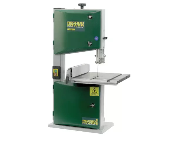 RECORD BS250 BENCHTOP BANDSAW 350W 240V