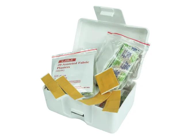 Scan Hypoallergenic Fabric Plasters 120Pk Assorted