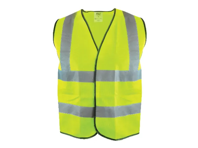 Scan Hi-Visibility Waistcoat Yellow - L (44In)