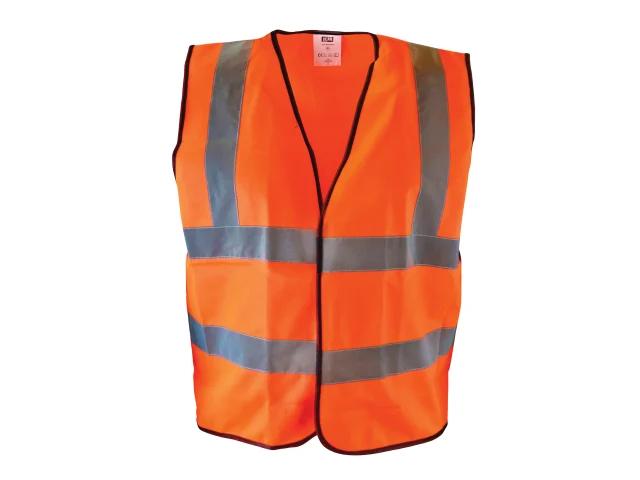 Scan Hi-Visibility Waistcoat Orange - Large (L)