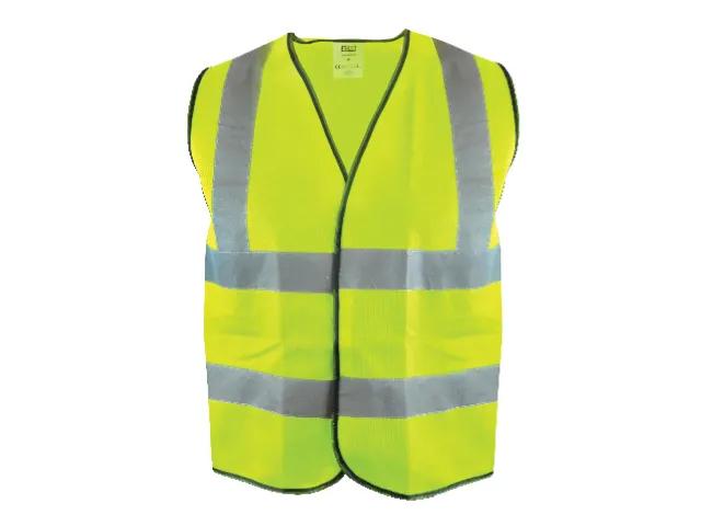 Scan Hi-Visibility Waistcoat Yellow - XXL