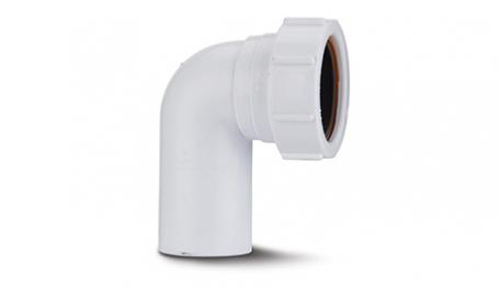Polypipe 32mm Compression Waste 90 Degree Swivel Bend