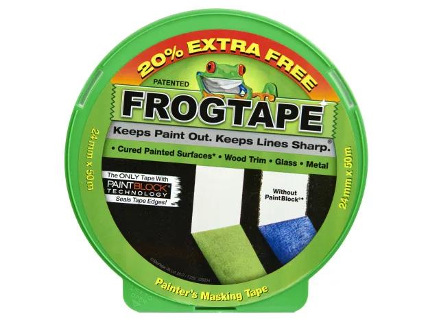 SHURTAPE FROG TAPE MULTI SURFACE MASKING TAPE 24MM X 41.1M - 157218