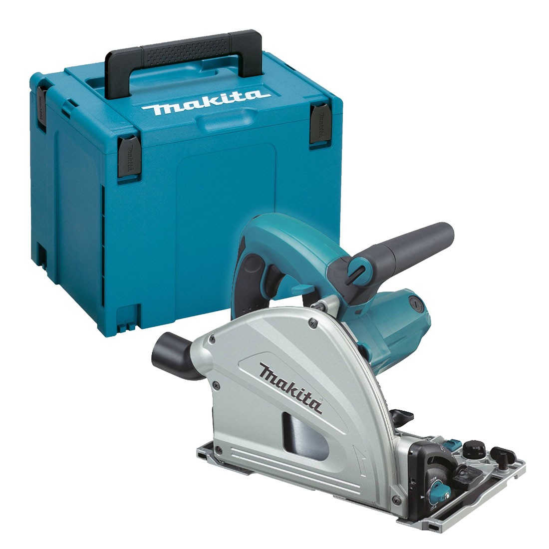 Makita SP6000J 240V 165mm Plunge Cut Saw - Depth Stopper for Splinter-Free Cutting
