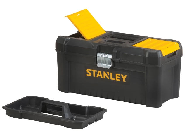 Stanley Basic Toolbox With Organiser Top 41mm (16in) - STST1-75518