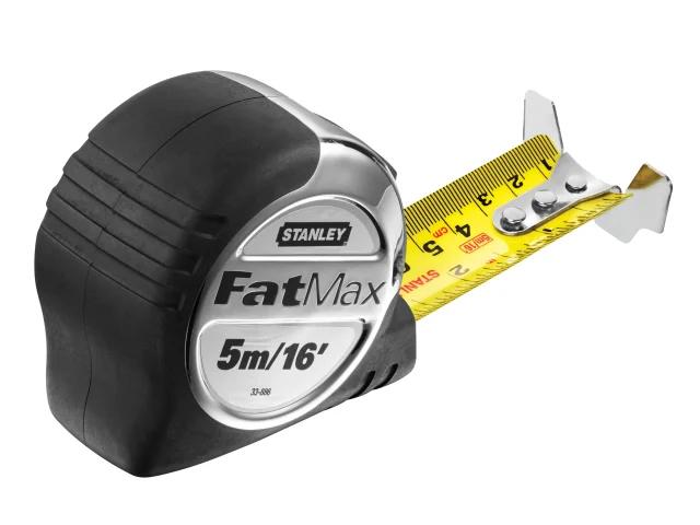 Stanley Fatmax Pro Pocket Tape Measure 5m / 16ft (32mm Wide) 5-33-886