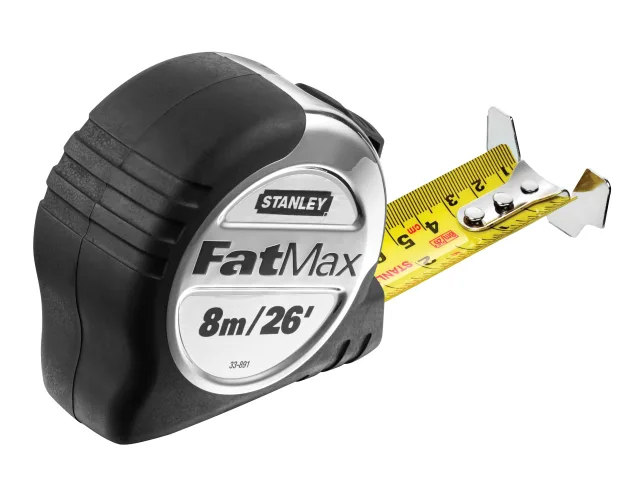 Stanley Fatmax Pro Pocket Tape Measure 8m / 26ft (32mm Wide) 5-33-891