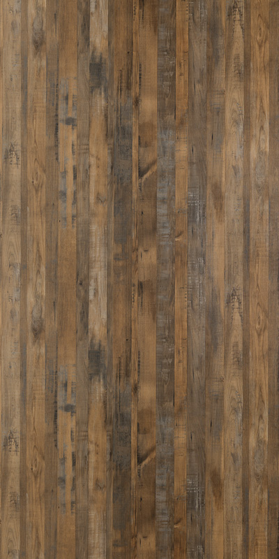 MULTIPANEL LINDA BARKER WOOD - SALVAGED PLANKED ELM (9480) HYDROLOCK 2400 X 1200MM