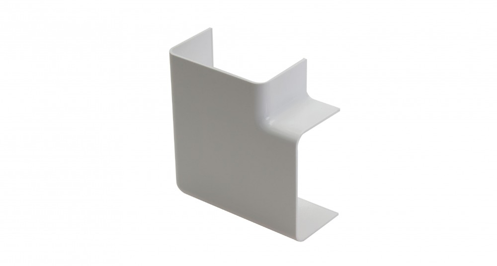 Talon 22mm Double Pipe Cover Flat Corner