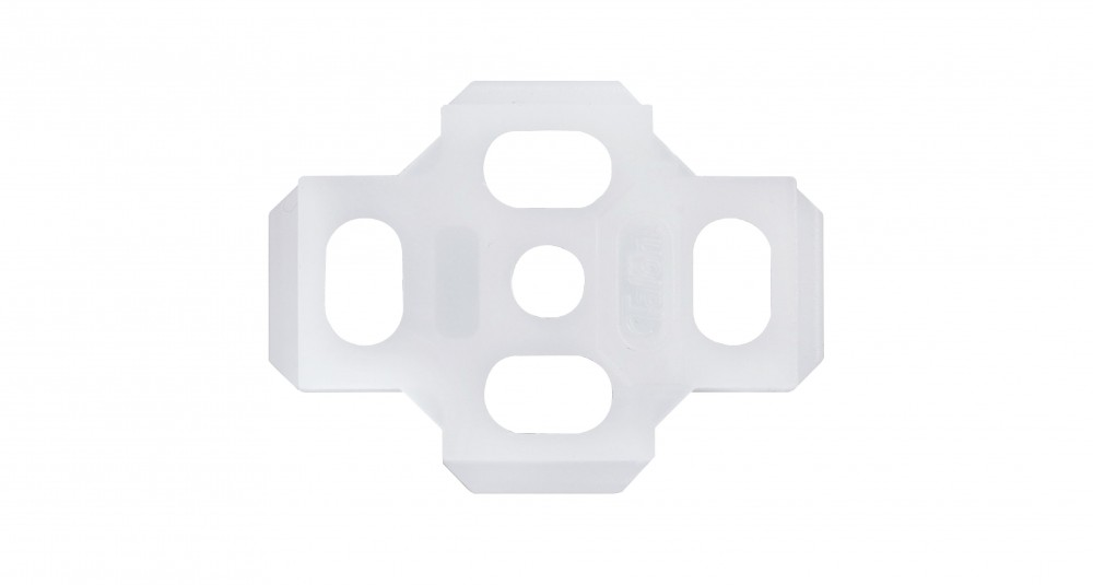 Talon 15mm & 22mm Single Pipe Cover Backplate