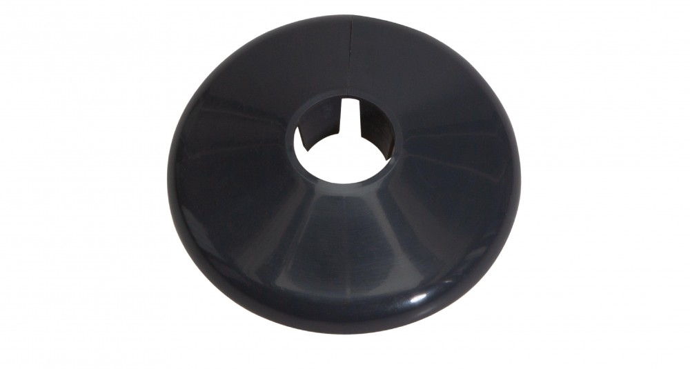 Talon 15mm Anthracite Grey Pipe Collar