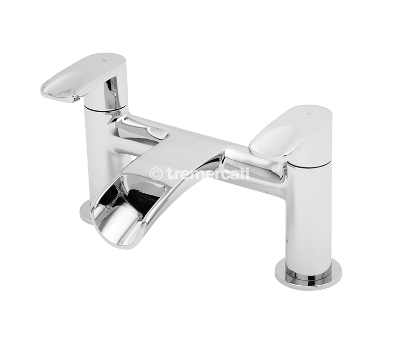 TRE MERCATI ORA PILLAR BATH FILLER CHROME PLATED