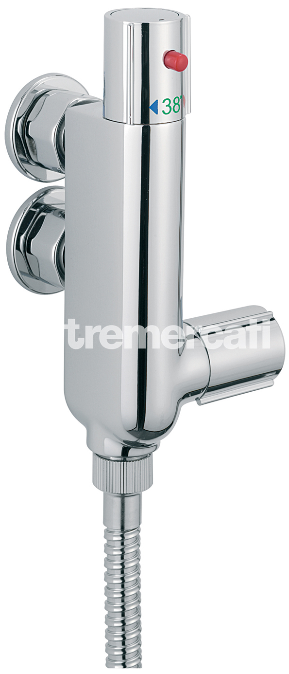TRE MERCATI THERMOSTATIC VERTICAL SHOWER ( VALVE ONLY ) CHROME PLATED