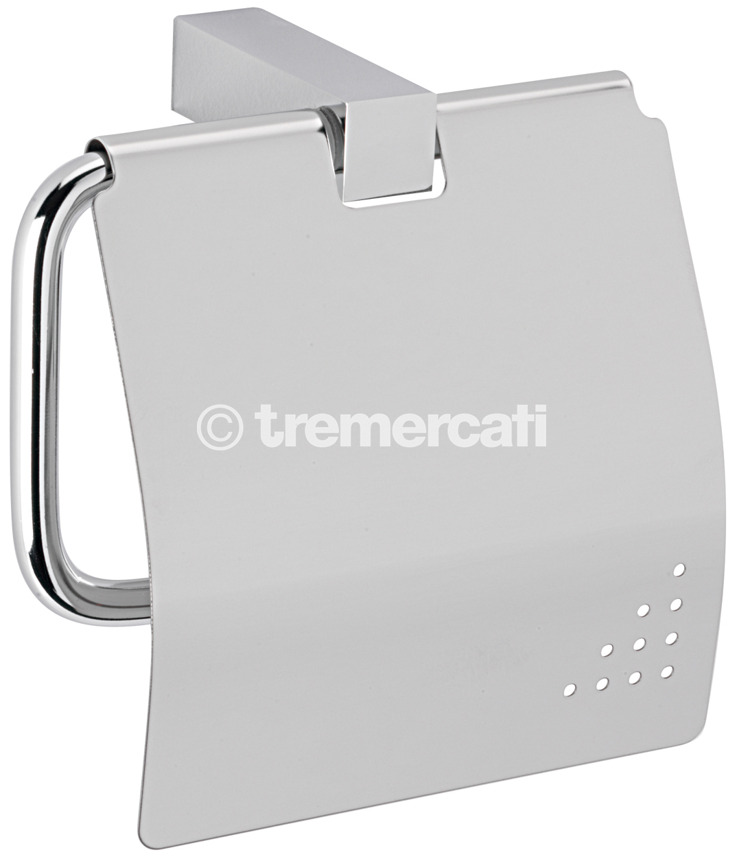 TRE MERCATI TURN ME ON COVERED TOILET ROLL HOLDER - CHROME PLATED