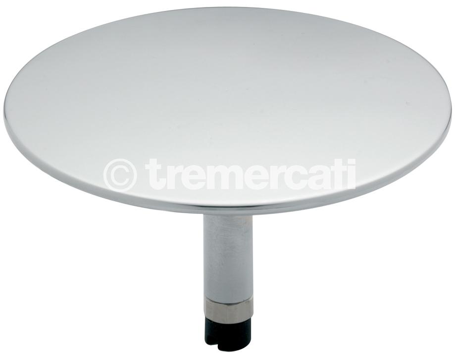 TRE MERCATI LARGE POP-UP BATH PLUG (MUSHROOM TYPE) - CHROME PLATED