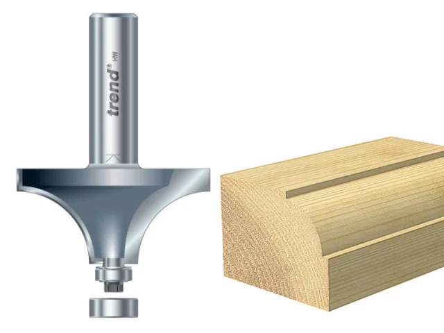 TREND - 46/17 x 1/2 TCT BEARING GUIDE OVOLO & ROUND OVER 19.1MM RADIUS