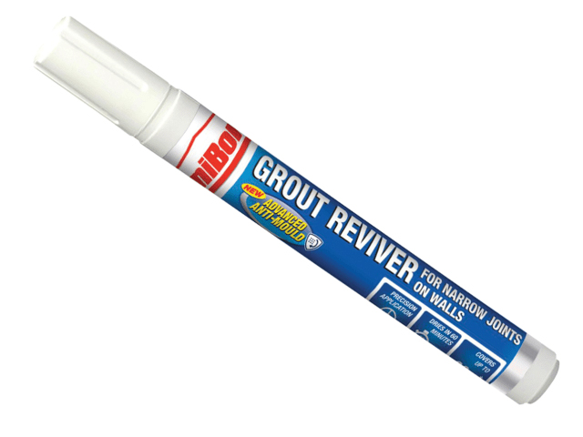 UNIBOND TRIPLE PROCTECT GROUT REVIVER WALL PEN 7ML ICE WHITE