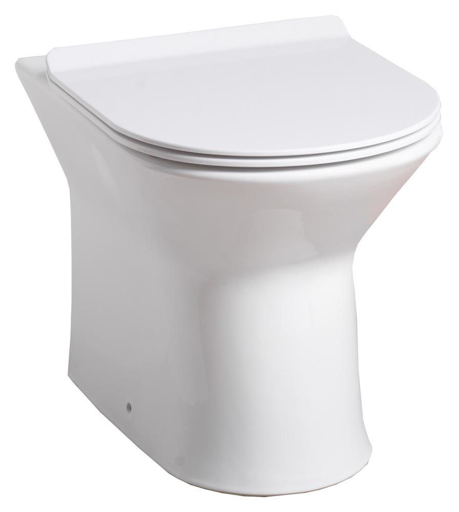 QX VENICE BACK-TO-WALL PAN & SOFT CLOSE SEAT