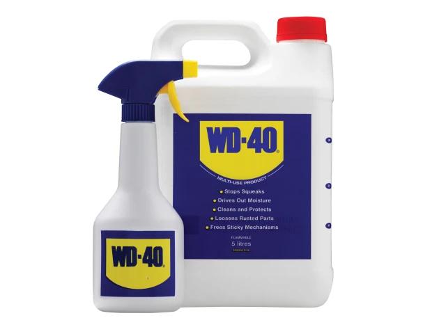 WD-40 Multi-Use Maintenance & Spray Bottle 5 Litre - 44506