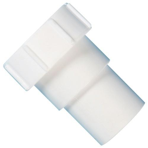 Polypipe 32mm Universal Compression to Solvent Weld Waste Connector White