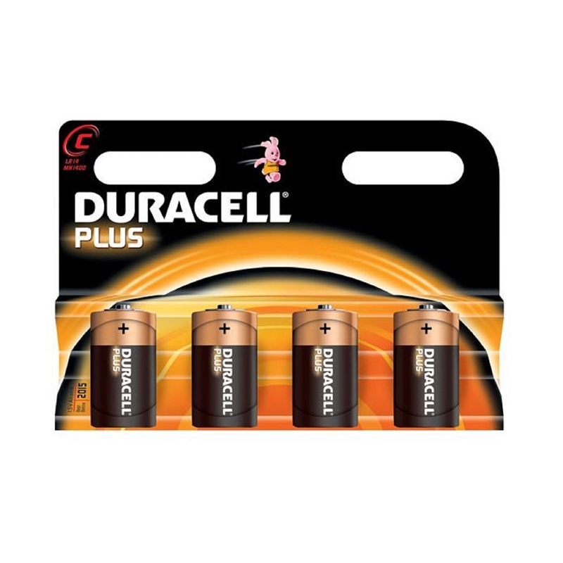 DURACELL - C BATTERIES - MULTI-PACK - XMS19BATTC