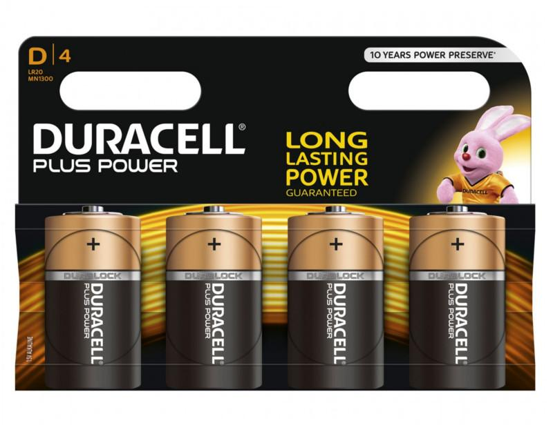 DURACELL - D BATTERIES - MULTI-PACK - XMS19BATTD