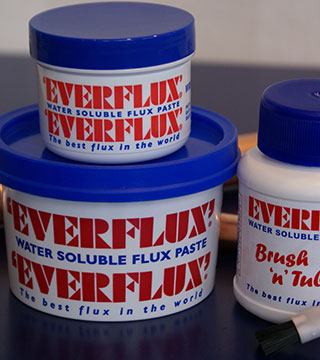 WISEMANS EVERFLUX FLUX PASTE 250ML