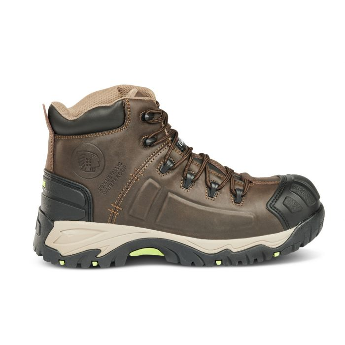 Apache Neptune Brown Non- Metallic Waterproof Safety Boot - Size 10