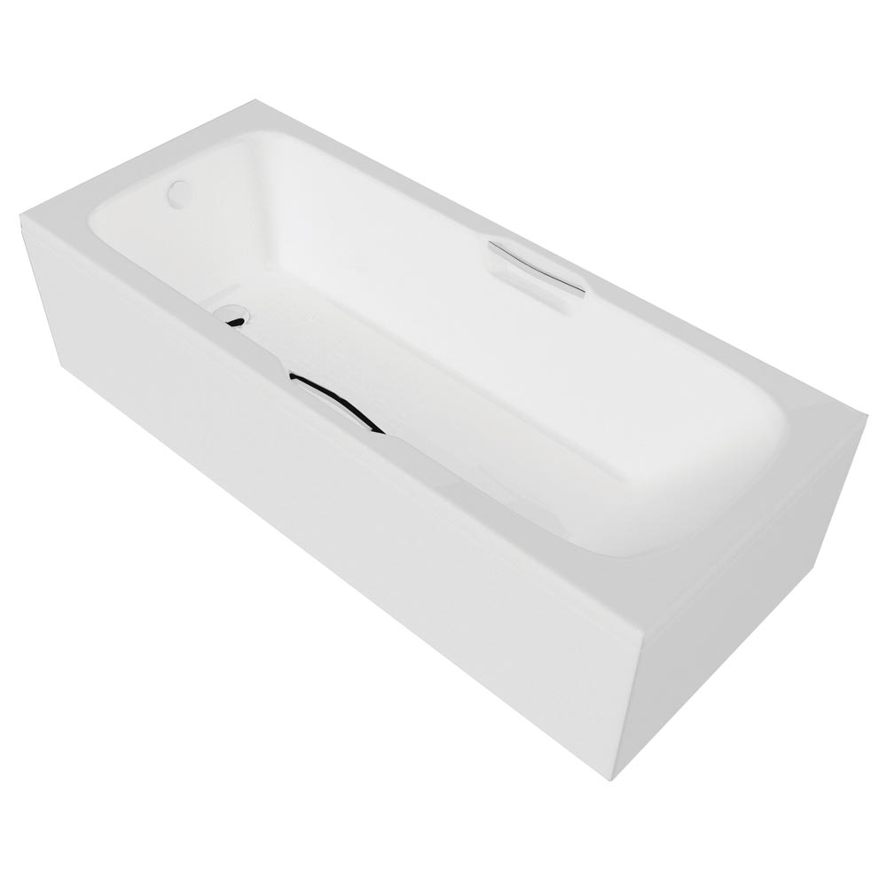 QX VIRGINIA 1500 X 700MM TWIN GRIPPED BATH - SUPERSPEC - ANTI-SLIP BASE